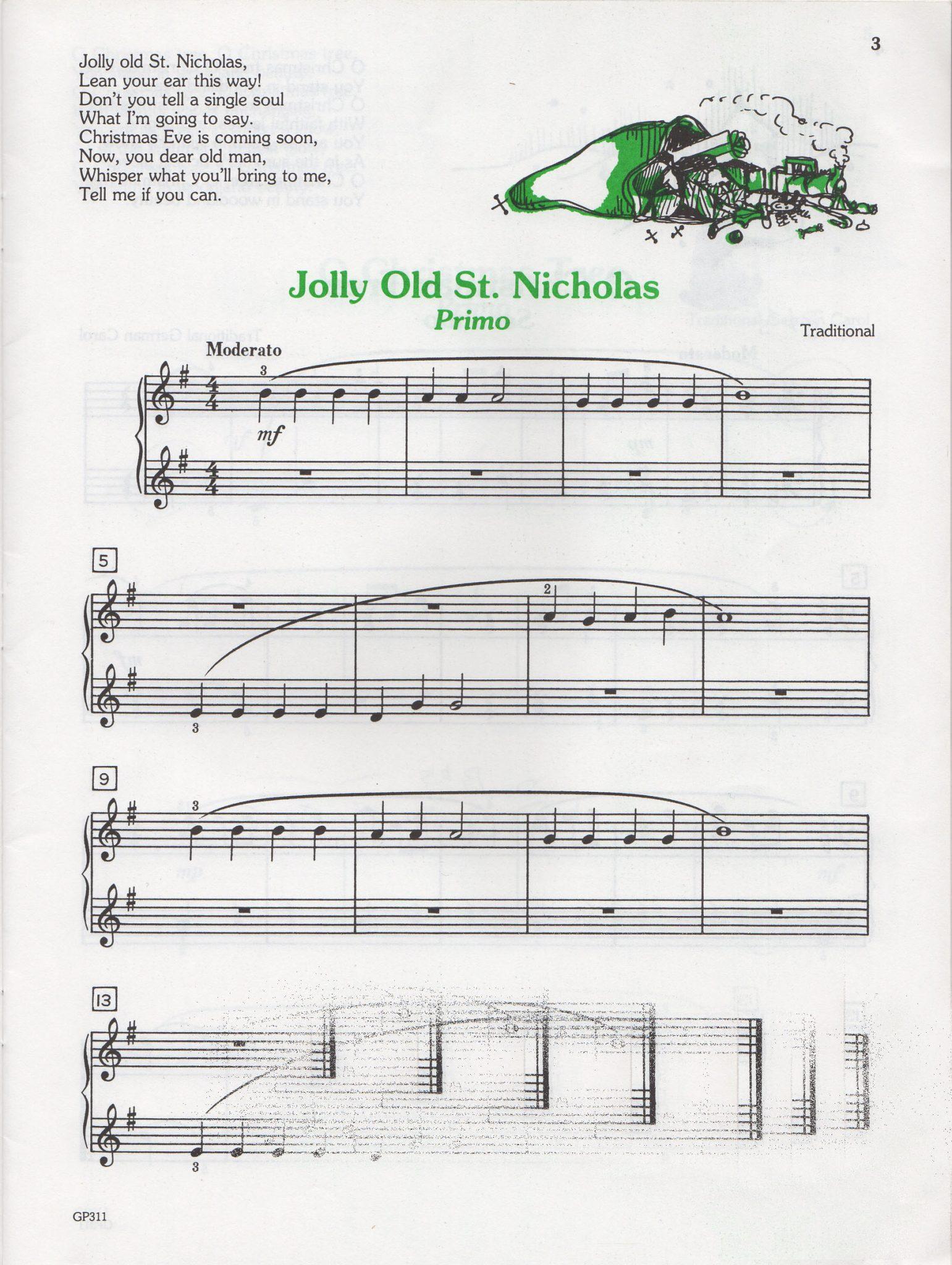 Christmas Duets.Christmas Duets Level 1 Jane Smisor Bastien 1979