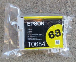 Epson 68 - Yellow