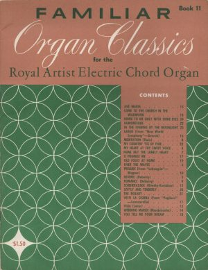 Familiar Organ Classics