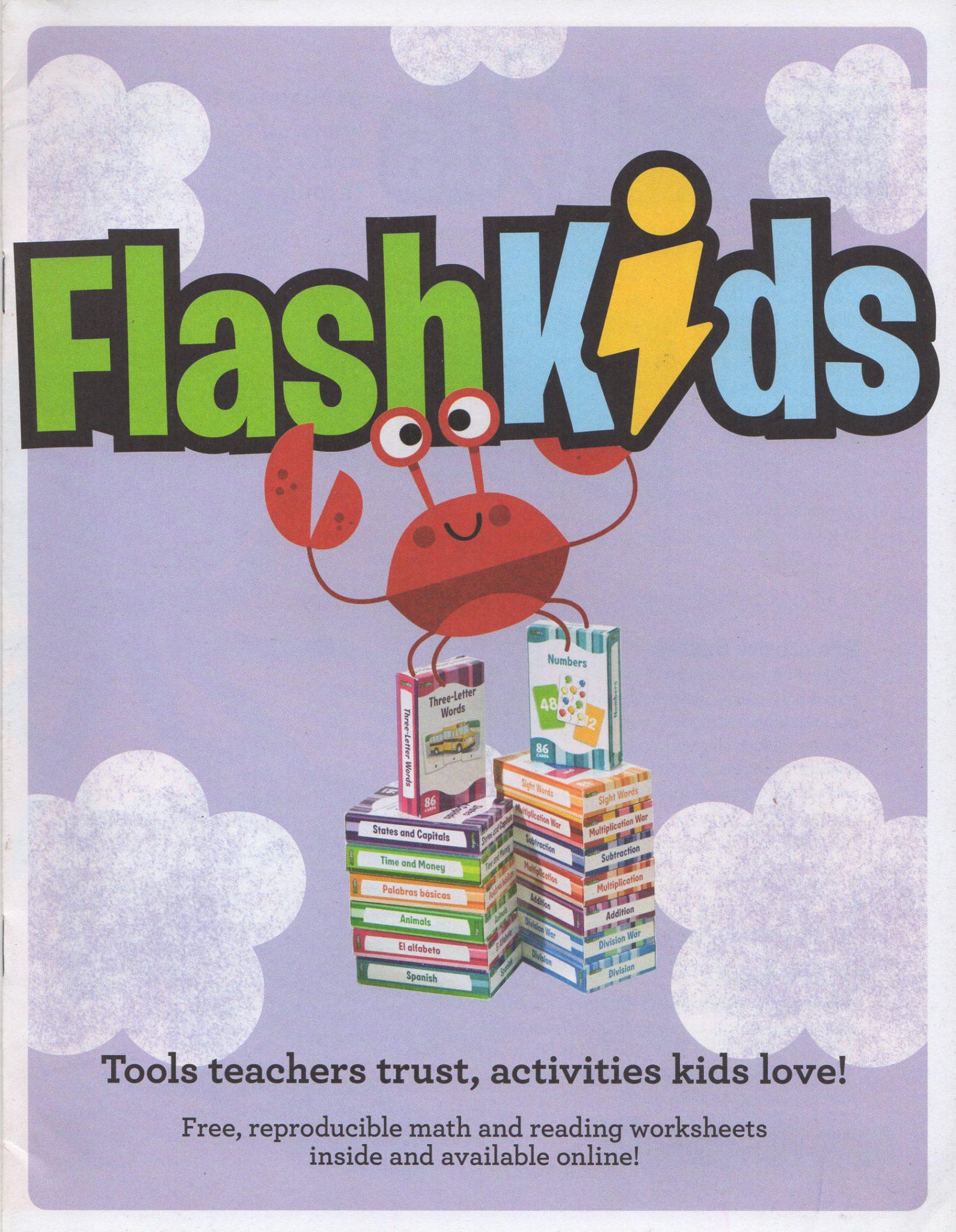Flashkids Math And Reading Worksheets