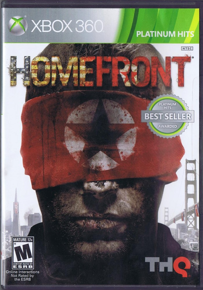 homefront xbox 360 game case manual no disc rh donnasgeneralstore com Xbox 360 Owners Manual Xbox 360 Console Instruction Manual