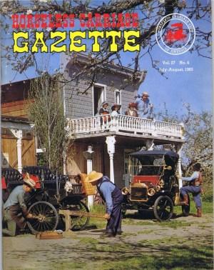 Horseless Carriage Gazette - Vol. 27, No. 4