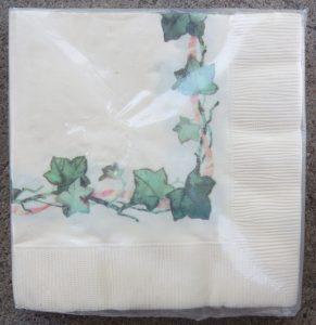 Ivy Laurels napkins