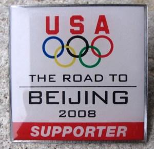 2008 Olympics Pin