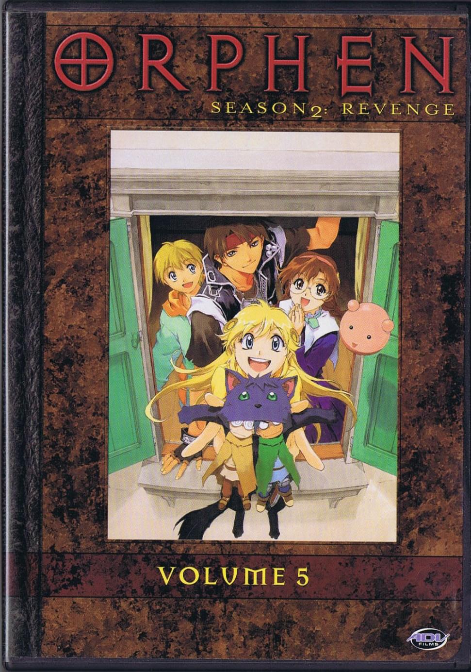 ORPHEN, SEASON 2: REVENGE, Volume 5 - Four Episodes