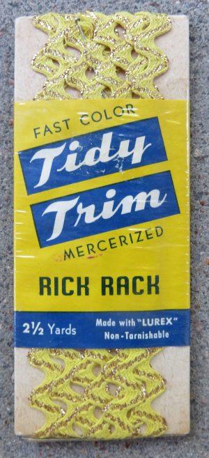 Yellow & Gold Rick Rack