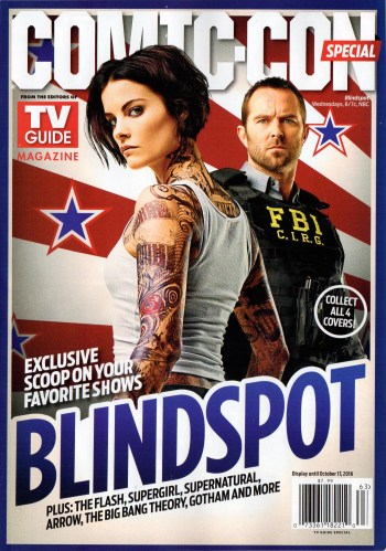 2016 Comic-Con TV Guide Special - Blindspot Cover