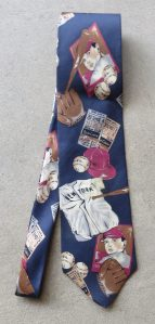 New York Baseball Necktie