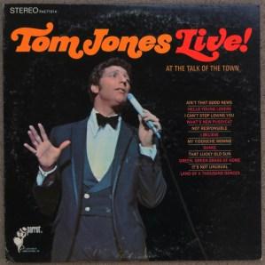 Tom Jones Live