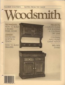 Woodsmith, No. 18, November 1981