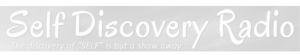 Self Discovery Radio Logo BW