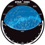 Double-sided-planisphere