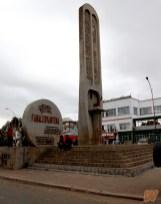 Fahaleovantena - l'obelisco che rappresenta tutte le etnie del Madagascar