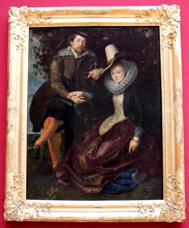Pieter Paul Rubens - Rubens e Isabella Brandt durante la luna di miele