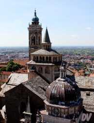 La Basilica vista dall'alto.