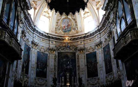 L'abside.