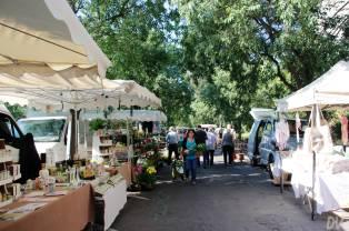 Veduta del mercato.