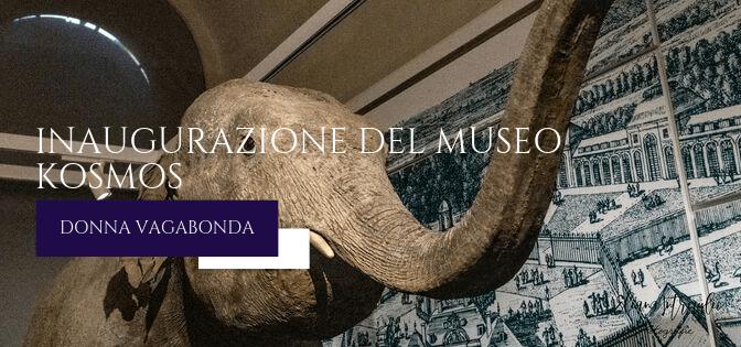 Inaugurazione del Museo Kosmos di Pavia