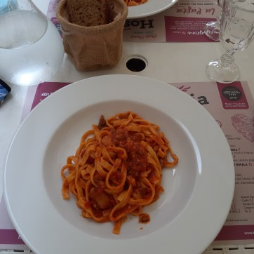La mia pasta all'Amatriciana