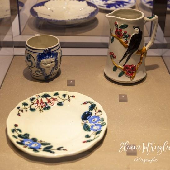 Alcune ceramiche decorate