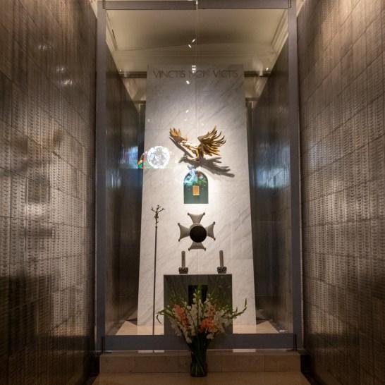 La cappella dedicata agli ufficiali