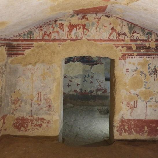 Tomba della Caccia e della Pesca nella Necropoli dei Monterozzi