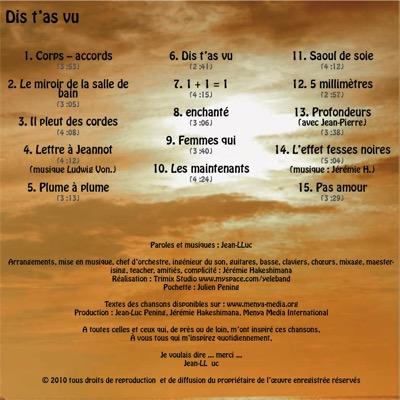 Jean-Luc en musique (3/4)