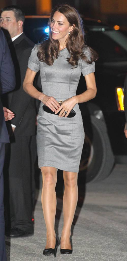L'eleganza di Kate Middleton in collant
