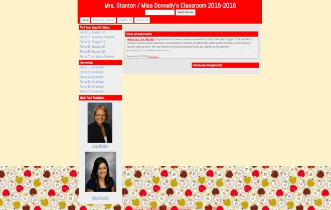 classroom-website