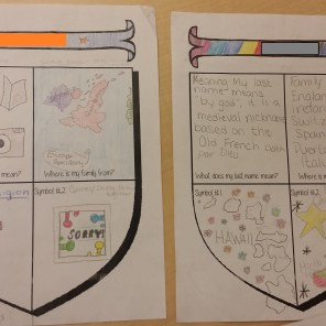 Some students went above and beyond with their creativity and color!