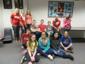 Smiles :) with eighth graders