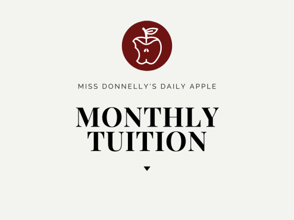 monthly tuition