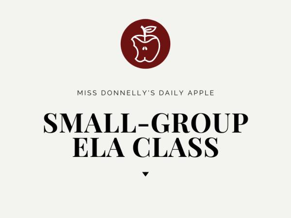Small-Group ELA