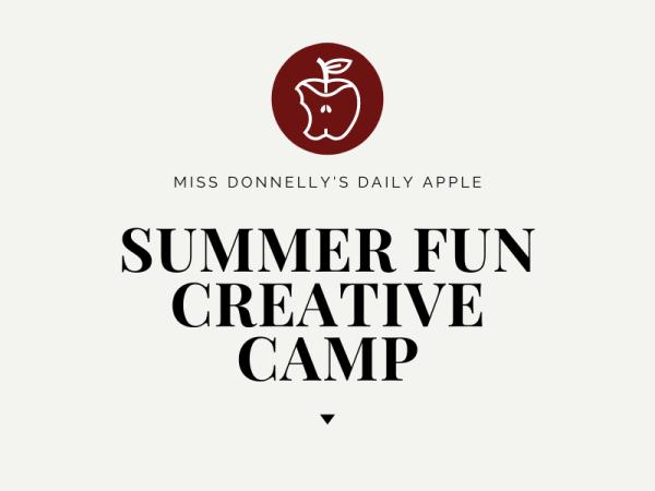 The OB Summer Fun Creative Camp