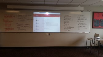 Online Google Classroom Post: informal, formative assessment of learning. Also an assessment of Employability Skills: communicating effectively with others.
