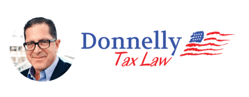 Donnelly Tax Law Logo Banner