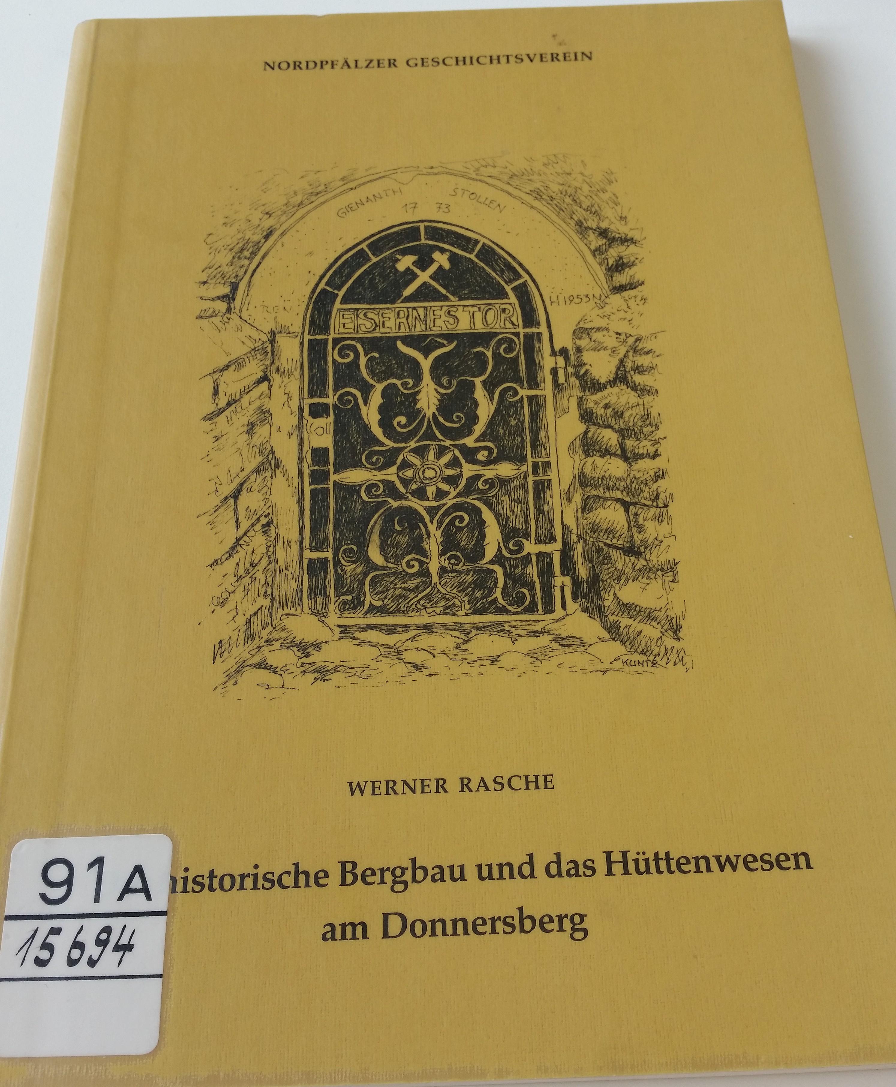 Neues Recherchematerial: Historischer Bergbau und das Hüttenwesen am Donnersberg