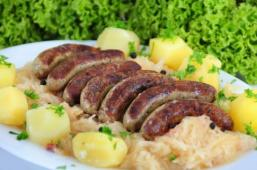The Nordhessische Bratwurst.