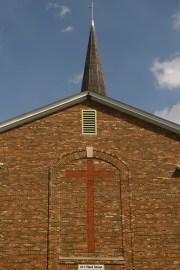 A church built brick by brick