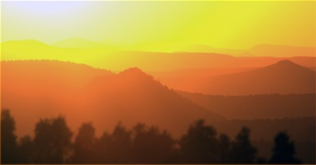 Sedona sunset series 002. 3.17.16
