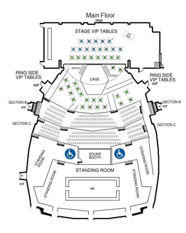 fillmore detroit seating
