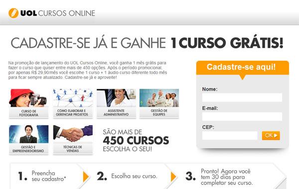 UOL Cursos Online UOL Cursos Online Com Certificado