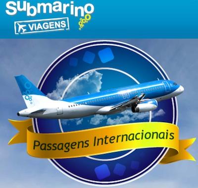 submarino viagens Submarino Viagens Áereas, Promoções