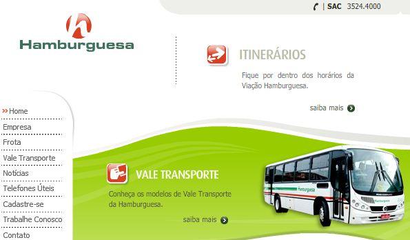 Viação Hamburguesa Passagens Horários e Site Viação Hamburguesa, Passagens, Horários e Site