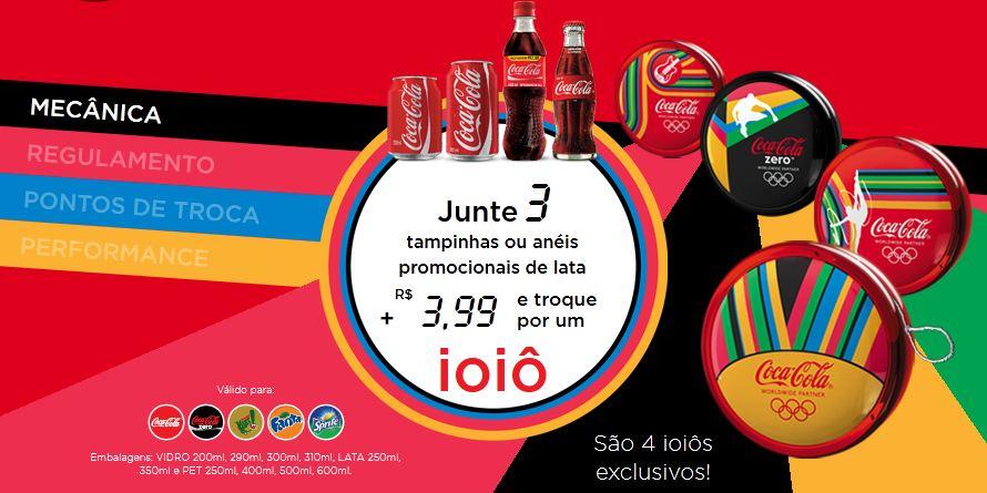 Promoção Ioiô Coca Cola Olimpíadas 2012 Promoção Ioiô Coca Cola Olimpíadas 2012