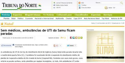 Jornal Tribuna do Norte - Notícias de Natal e do RN