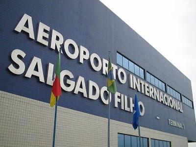 800px AeroportoSalgadoFilho Aeroporto Internacional Salgado Filho, Endereço e Telefone