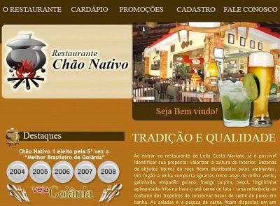 Ch 2525C3 2525A3o 252520Nativo 2525201 Restaurante Chão Nativo I em Goiânia, Endereço e Telefone