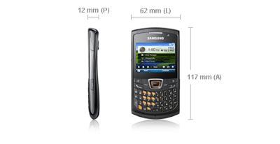 Celular Samsung Omnia 652 com Messenger
