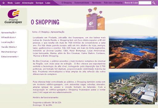 SHOPPING 252520GUARARAPES Melhores Opções Para Passeio Com Crianças em Jaboatão dos Guararapes